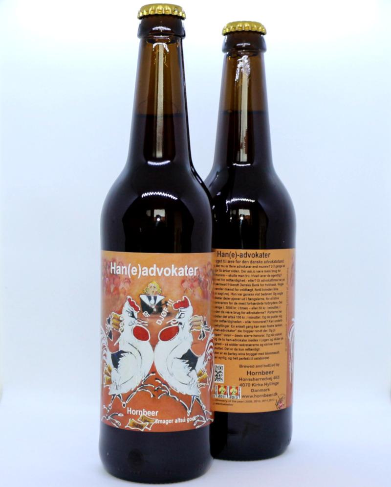 Haneadvokater Barley Wine - Hornbeer