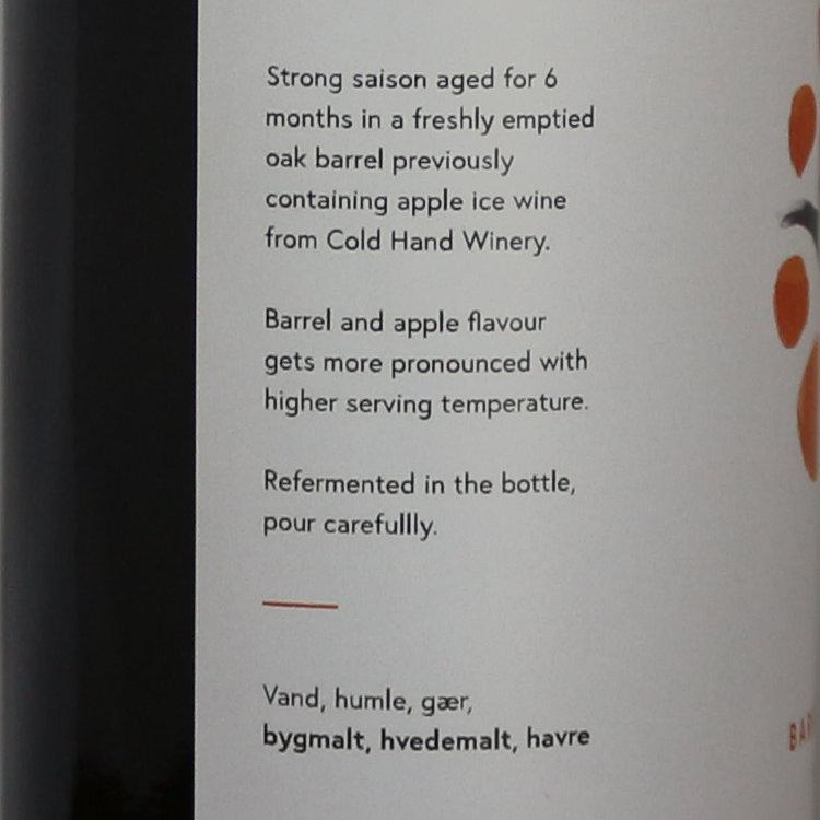 Agile Brewing Pomme Fatale bagside