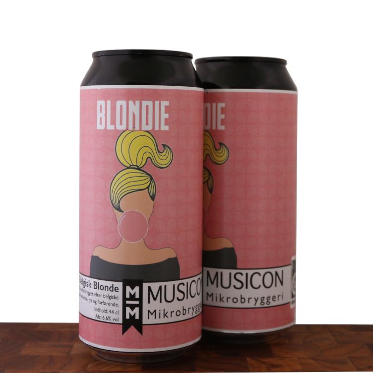 BLONDIE - Belgisk Blonde - MUSICON Mikrobryggeri