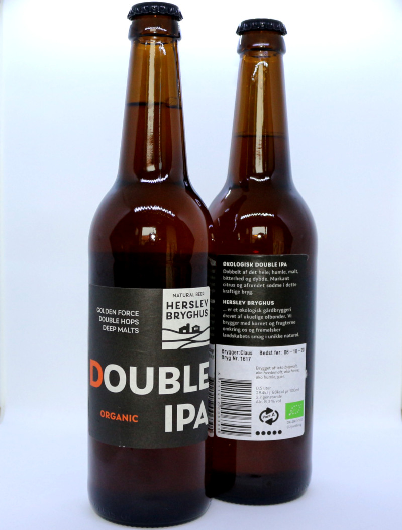 Økologisk Double IPA - Herslev Bryghus
