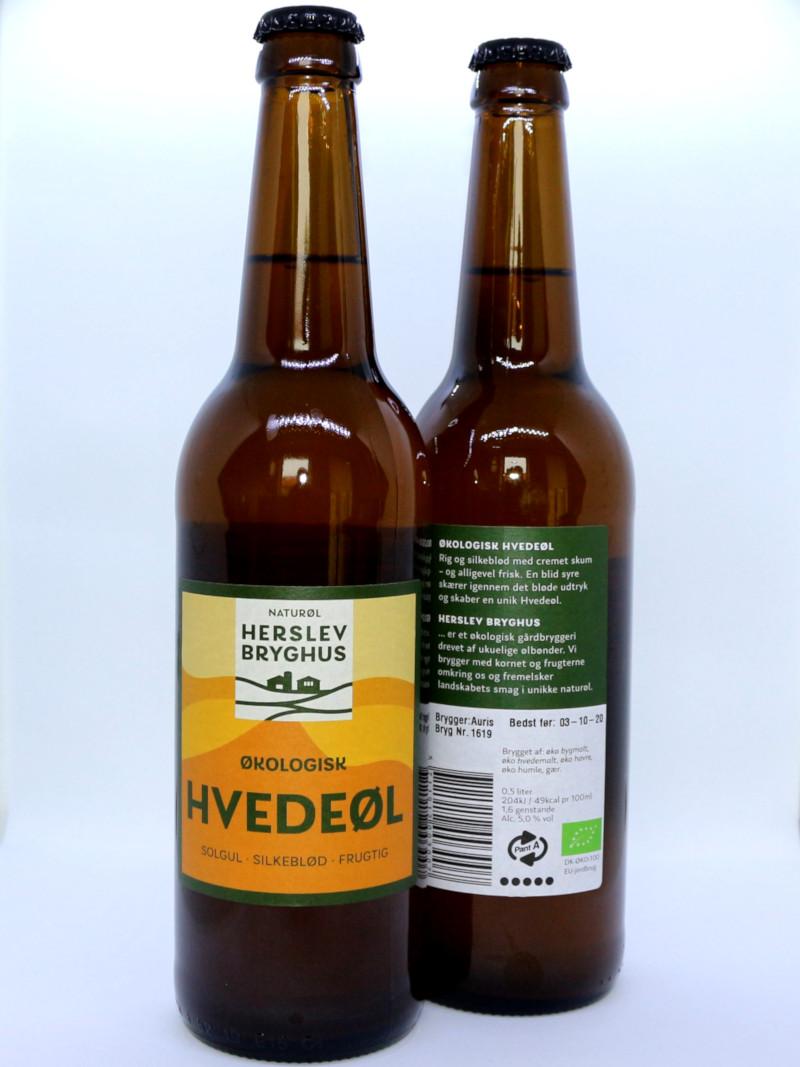 Økologisk Hvedeøl - Herslev Bryghus