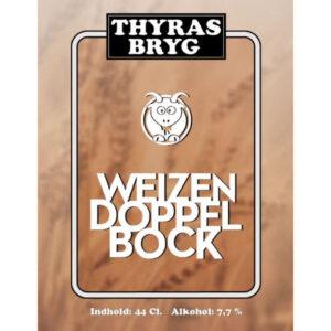 Weizendoppelbock Thyras Bryg